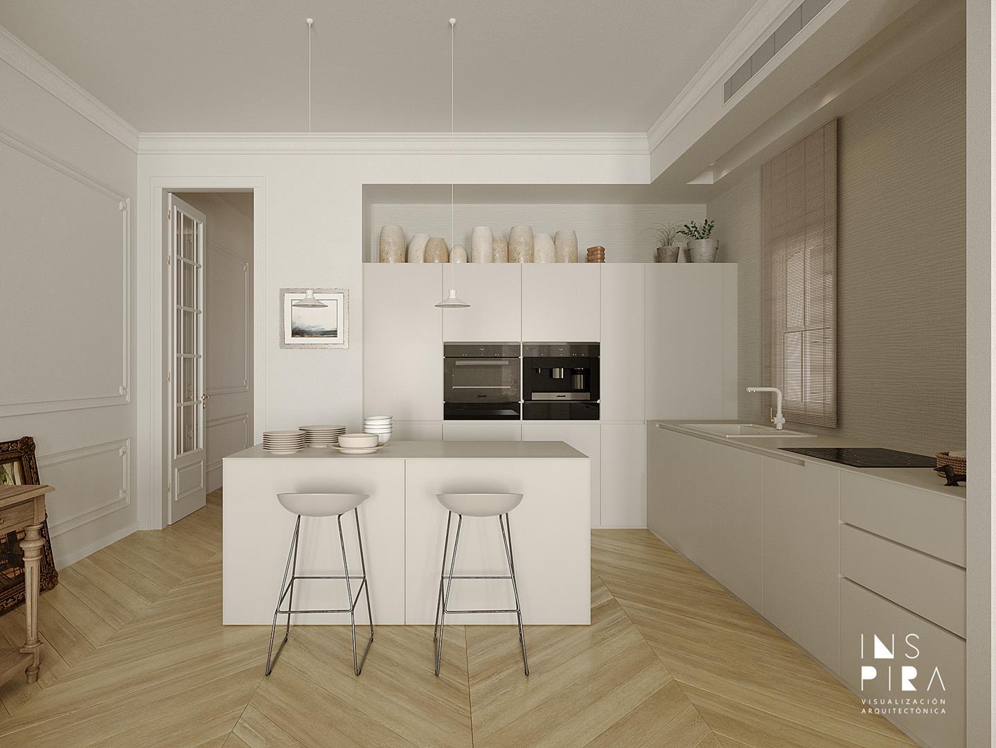 renders-arquitectura-3d-cocina-de-diseño