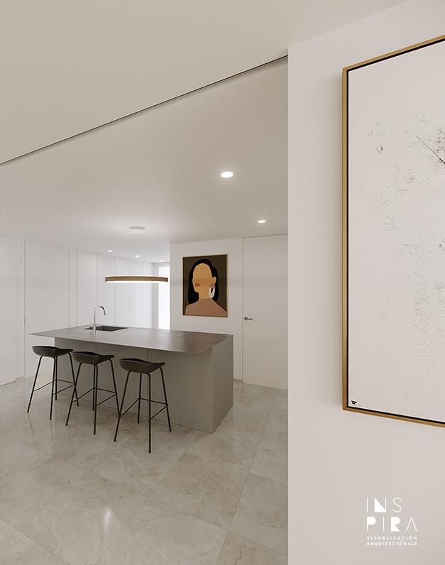 render-cocina-visualizacion-arquitectonica